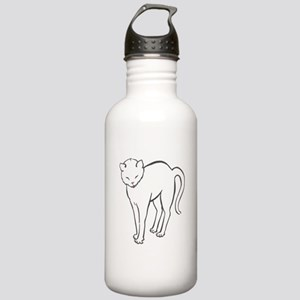 Stretchee Cat Stainless Water Bottle 1.0L