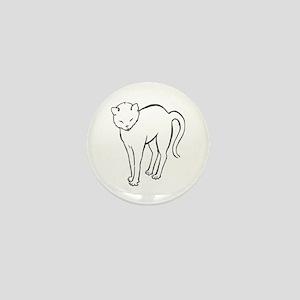 Stretchee Cat Mini Button