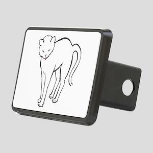 Stretchee Cat Rectangular Hitch Cover