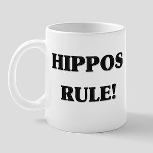 Hippos Rule Mug