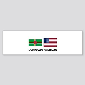 Dominican American Bumper Sticker