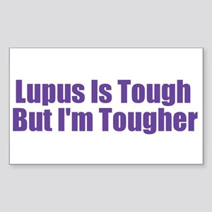 Lupus Is Tough Rectangle Sticker