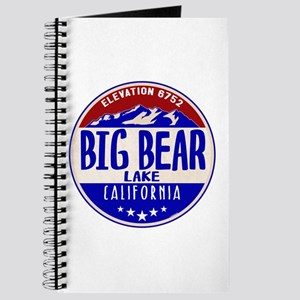 BIG BEAR LAKE CALIFORNIA NAUTICAL FLAG BOA Journal