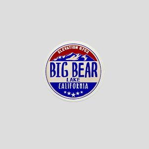 BIG BEAR LAKE CALIFORNIA NAUTICAL FLAG Mini Button