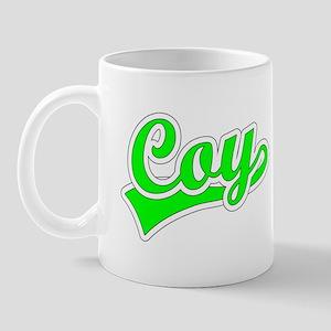 Retro Coy (Green) Mug