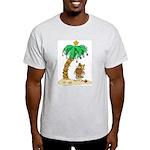 Desert Island Christmas Ash Grey T-Shirt