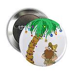 """Desert Island Christmas 2.25"""" Button (10 pack)"""