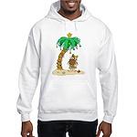 Desert Island Christmas Hooded Sweatshirt