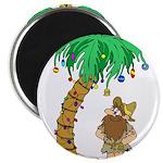 Desert Island Christmas Magnet
