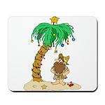Desert Island Christmas Mousepad