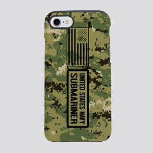 U.S. Navy: Submariner (Camo) iPhone 8/7 Tough Case