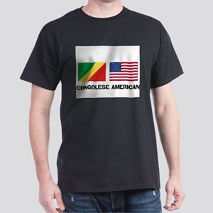 Congolese American Dark T-Shirt