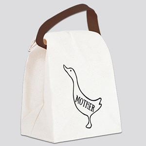 Mother Goose Canvas Lunch Bag