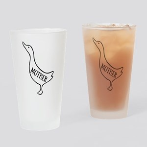 Mother Goose Drinking Glass