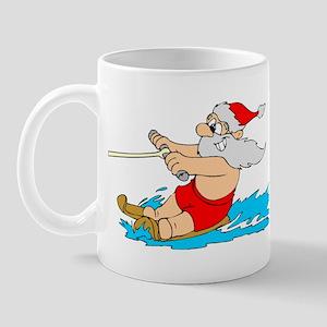 Waterski Santa Mug
