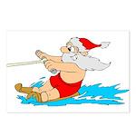 Waterski Santa Postcards (Package of 8)