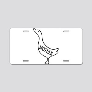 Mother Goose Aluminum License Plate