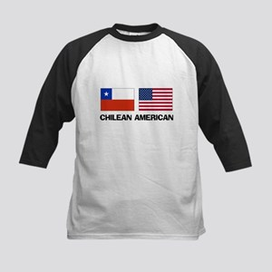 Chilean American Kids Baseball Jersey