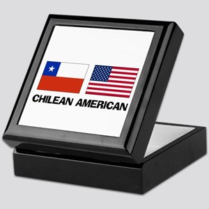 Chilean American Keepsake Box