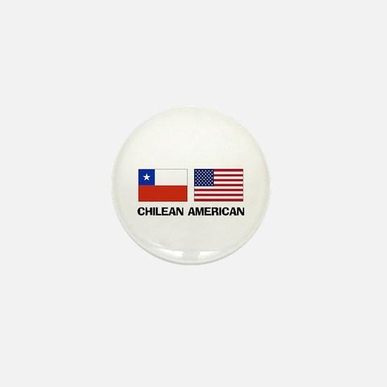 Chilean American Mini Button