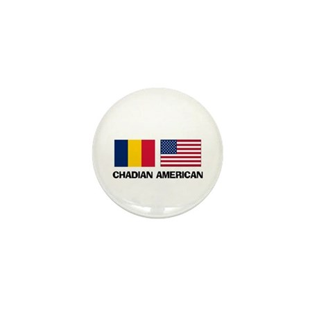 Chadian American Mini Button (10 pack)