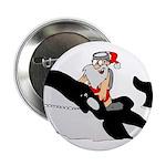 """Santa's Whale Safari 2.25"""" Button (10 pack)"""