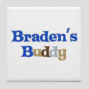 Braden's Buddy Tile Coaster