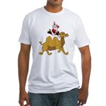 Camel Rodeo Santa Fitted T-Shirt