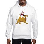 Camel Rodeo Santa Hooded Sweatshirt