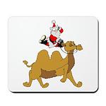 Camel Rodeo Santa Mousepad