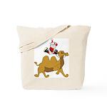 Camel Rodeo Santa Tote Bag