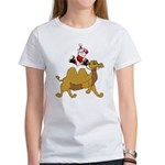 Camel Rodeo Santa Women's T-Shirt