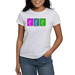 The Dancing Smiley Man - Carp Women's T-Shirt
