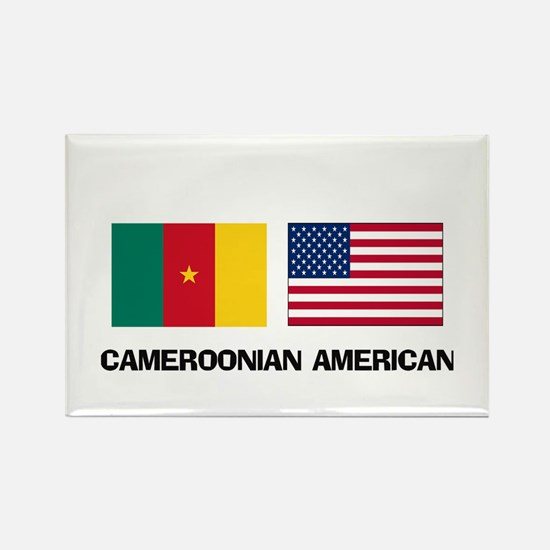 Cameroonian American Rectangle Magnet