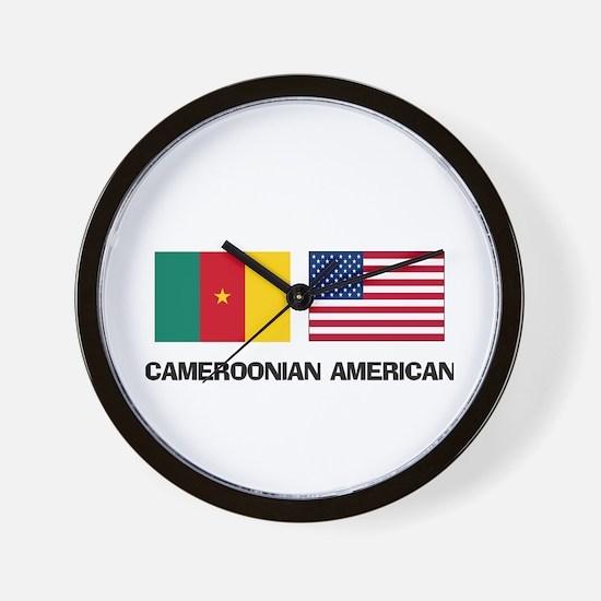 Cameroonian American Wall Clock