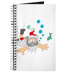 Scuba Diving Santa Journal