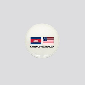 Cambodian American Mini Button