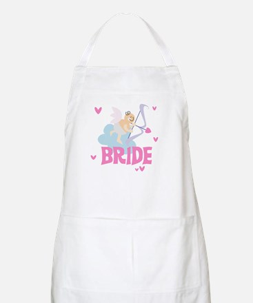 Angel Bride BBQ Apron