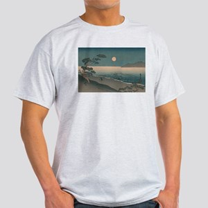 Japan Beach painting Light T-Shirt