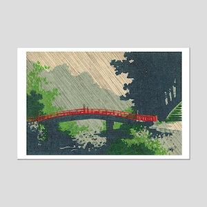 Japan Bridge poster 11x17