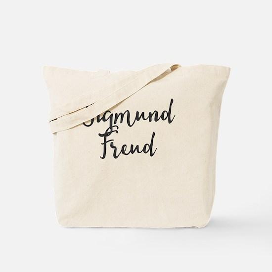 Funny Sigmund freud Tote Bag