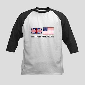 British American Kids Baseball Jersey