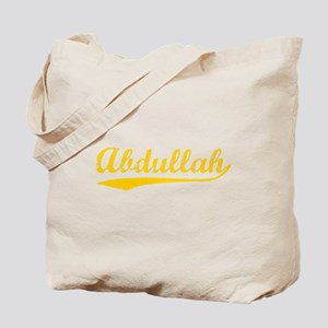 Vintage Abdullah (Orange) Tote Bag