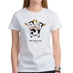 two faced cow Women's T-Shirt