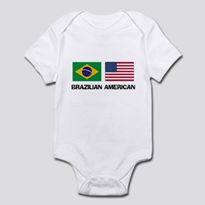 Brazilian American Infant Bodysuit