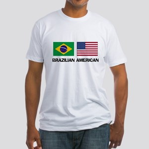 Brazilian American Fitted T-Shirt