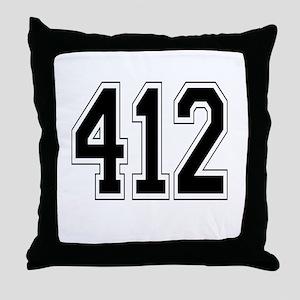 412 Throw Pillow
