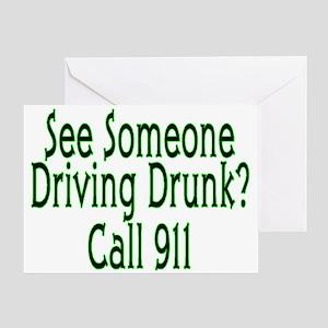 Call 911 Greeting Card