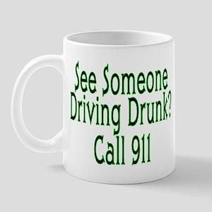 Call 911 Mug