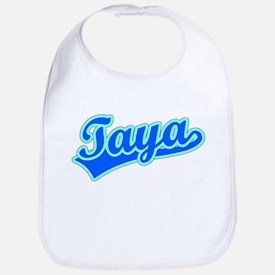 Retro Taya (Blue) Bib